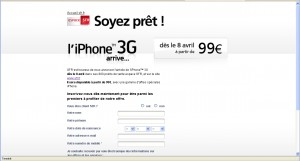 offre sfr iphone