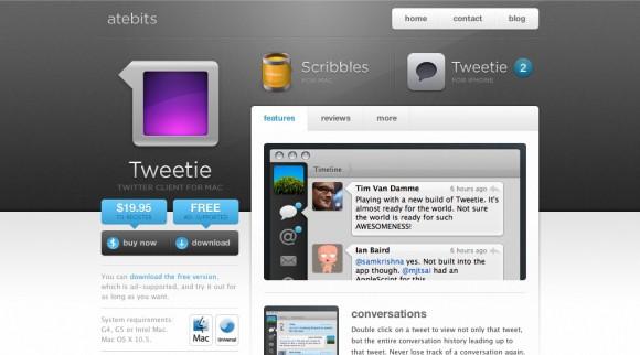tweetie desktop for twitter