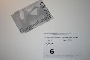 billet musée Guggenheim