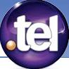 logo nom de domaine .tel agence de communication